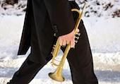 walking trumpet