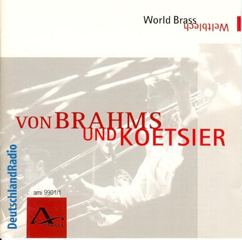 Brahms und Koetsier - Frontcover
